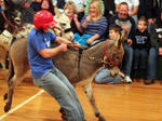Donkey basketball invades Mackville