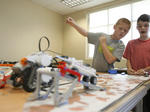 Robot camp at ECTC
