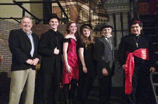 """<div class=""""source"""">Photo submitted</div><div class=""""image-desc"""">Above is Terrell with cast members of the Central Kentucky Community Theatre's """"Jekyll & Hyde: The Musical."""" From left is Terrell, Matthew Hutchins, Gwendolyn Campbell, Gaubrielle Humphress, Noah Hutchins and Mark Grider.</div><div class=""""buy-pic""""></div>"""