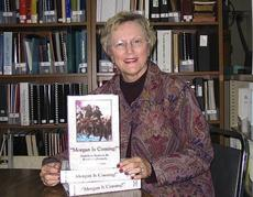 "<div class=""source"">Photo submitted</div><div class=""image-desc"">Historian and author Betty Gorin-Smith will be in Springfield on Tuesday to speak and sell signed copies of her book, ""Morgan is Coming!""</div><div class=""buy-pic""></div>"