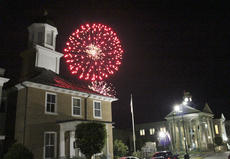 """<div class=""""source"""">Photo by Brandon Mattingly</div><div class=""""image-desc"""">Springfield hosted its annual Independence Day celebration on Thursday, with the venue moving to the parking lot behind the Washington County Judicial Center for this year's event. Above, fireworks explode beyond the 1816 Courthouse building in Springfield.</div><div class=""""buy-pic""""><a href=""""/photo_select/16728"""">Buy this photo</a></div>"""