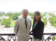 "<div class=""source"">Photo submitted</div><div class=""image-desc"">Ellen Goatley, pictured above with U.S. Rep. Brett Guthrie, spent four weeks in Washington D.C. learning under Guthrie and his staff.</div><div class=""buy-pic""></div>"
