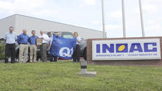 """<div class=""""source"""">Sun File Photo</div><div class=""""image-desc"""">The INOAC North America Springfield facility has called Washington County home for over 24 years. Soon, they'll be undergoing an expansion. Above, INOAC representatives celebrate being named a Q1 facility last year.</div><div class=""""buy-pic""""><a href=""""/photo_select/17040"""">Buy this photo</a></div>"""
