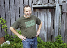 """<div class=""""source"""">Photo submitted</div><div class=""""image-desc"""">Poet Maurice Manning at his home near Springfield, Ky. Manning, a Yale Younger Poets winner and a poetry judge this year for the National Book Award, bought his 1850s farmhouse on 20 acres in Washington County in 2001.</div><div class=""""buy-pic""""></div>"""
