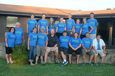 """<div class=""""source"""">Holli White</div><div class=""""image-desc"""">Participants in a recent relief mission to eastern Kentucky, planned by friends from Camp Calvary. Front row, left to right: Taylor Sawyer, Jordan Settles, Doug Elam, Quinn Brown, Michaela Cummins, Cody Young and McCoy Brown. Back row, left to right: Jane Clay Kephart, Leonard Stone, Tara Watkins, Shelby White, Emilee Lewis, Bryana Crain, Grant Sellers, Nancy Clark, Sydney Sawyer and Brady Sawyer .</div><div class=""""buy-pic""""><a href=""""http://web2.lcni5.com/cgi-bin/c2newbuyphoto.cgi?pub=023&orig=CampCalvary002Web.jpg"""" target=""""_new"""">Buy this photo</a></div>"""