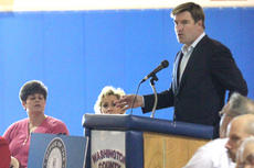 """<div class=""""source"""">Brandon Mattingly</div><div class=""""image-desc"""">Kentucky Attorney General Jack Conway spoke to students at Washington County High School on Feb. 28 about prescription drug abuse. </div><div class=""""buy-pic""""><a href=""""/photo_select/11051"""">Buy this photo</a></div>"""