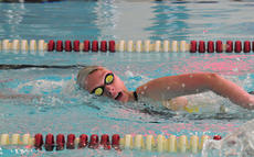 """<div class=""""source"""">Photo by SCC Sports Information</div><div class=""""image-desc"""">Laura Edelen finished in third place in the 100-yard butterfly in a meet at Asbury.</div><div class=""""buy-pic""""></div>"""