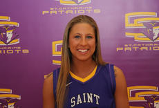"""<div class=""""source"""">Photo by SCC Sports Information</div><div class=""""image-desc"""">Alexiss Griffin hit a game-winning three-point basket at the Olivet Nazarene Classic as the Patriots beat Robert Morris University 69-68.</div><div class=""""buy-pic""""></div>"""