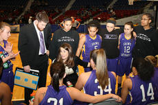 """<div class=""""source"""">Photo by SCC Sports Information</div><div class=""""image-desc"""">Lena Bramblett instructed her team during a timeout in last Thursday's game at the Frankfort Convention Center.</div><div class=""""buy-pic""""></div>"""