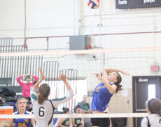 "<div class=""source"">Photo by Brandon Mattingly</div><div class=""image-desc"">Halie Browning elevates for a ball at the net on Saturday.</div><div class=""buy-pic""><a href=""/photo_select/12577"">Buy this photo</a></div>"