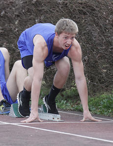 "<div class=""source"">Photo by Jeff Moreland</div><div class=""image-desc"">Sophomore Jonathan Riley prepares to run the 400-meter dash during a meet at Marion County last Tuesday.</div><div class=""buy-pic""><a href=""/photo_select/14129"">Buy this photo</a></div>"
