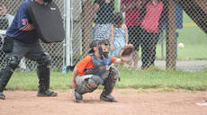 "<div class=""source"">Photo by Brandon Mattingly</div><div class=""image-desc"">Orioles catcher Jacob Yates hauled in a strike in Friday's Little League game against the Marlins at Idle Hour Park.</div><div class=""buy-pic""><a href=""/photo_select/14334"">Buy this photo</a></div>"