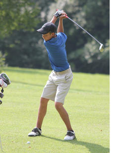 "<div class=""source"">Photo by Brandon Mattingly</div><div class=""image-desc"">Luke Mattingly takes a swing for the green in Wednesday's tournament.</div><div class=""buy-pic""><a href=""/photo_select/12582"">Buy this photo</a></div>"