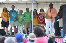 "<div class=""source"">Photo by Brandon Mattingly</div><div class=""image-desc"">Former Springfield mayor, the late Mike Haydon, was honored on Friday evening. Haydon created the African American Heritage Festival, which began in 2004.</div><div class=""buy-pic""><a href=""/photo_select/14700"">Buy this photo</a></div>"