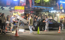 """<div class=""""source"""">courtesy of Charlotte Campbell</div><div class=""""image-desc"""">Some filming for the upcoming movie Men in Black 3 was underway as the students were in Times Square.</div><div class=""""buy-pic""""></div>"""
