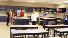 """<div class=""""source"""">Jeff Moreland</div><div class=""""image-desc"""">The new science lab at Mary Queen of the Holy Rosary School in Lexington was provided by Alltech, and owners, Dr. and Mrs. Pearse Lyons. They have offered to create a similar lab for St. Dominic School in Springfield.</div><div class=""""buy-pic""""><a href=""""/photo_select/9525"""">Buy this photo</a></div>"""