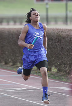 "<div class=""source"">Photo by Jeff Moreland</div><div class=""image-desc"">Tylyn Byas focuses on the finish line as he came in first place in a relay event for the Commanders at a Marion County track meet last Tuesday.</div><div class=""buy-pic""><a href=""/photo_select/14130"">Buy this photo</a></div>"