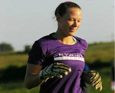 """<div class=""""source"""">Photo by SCC Sports Information</div><div class=""""image-desc"""">Sophomore goalkeeper Lindsey Vinson allowed just one goal in 200 minutes in the two St. Catharine victories last week.</div><div class=""""buy-pic""""></div>"""
