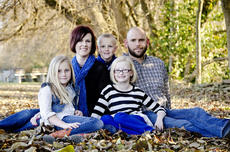 """<div class=""""source"""">Photo submitted</div><div class=""""image-desc"""">Kim and Kyle Yankey and their three children, from left, Kyla, 9, Kaleb, 4, and Kara, 7, will soon take in a 12-48-month-old boy from the Democratic Republic of Congo, a turmoiled nation that just recently opened its doors to the adoption process.</div><div class=""""buy-pic""""></div>"""