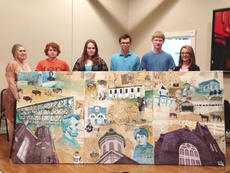 """<div class=""""source"""">Photo submitted</div><div class=""""image-desc"""">Washington County High School students presented their triptych featuring Washington County's history to the Springfield Rotary Club last week.</div><div class=""""buy-pic""""></div>"""