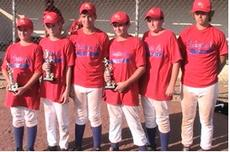 """<div class=""""source"""">Photo Submitted</div><div class=""""image-desc"""">12-year-old members of the team who played their final Little League game are Dallas Fenwick, Adam Krey, Travis Mattingly, Jared Young, and Matthew Bartley. Thomas Spalding is not pictured.</div><div class=""""buy-pic""""><a href=""""http://web2.lcni5.com/cgi-bin/c2newbuyphoto.cgi?pub=023&orig=baseball-b.jpg"""" target=""""_new"""">Buy this photo</a></div>"""