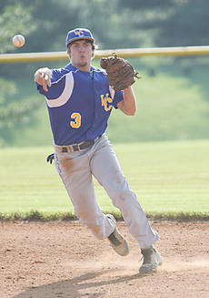 "<div class=""source"">Jeff Moreland</div><div class=""image-desc"">Trae Abell fields a grounder and fires to first for the out as Washington County beat Bethlehem 8-0 Thursday.</div><div class=""buy-pic""><a href=""/photo_select/8524"">Buy this photo</a></div>"