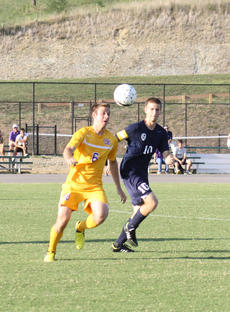"""<div class=""""source"""">Photo by SCC Sports Information</div><div class=""""image-desc"""">Isaac Blanford, a senior forward from Waverly, Ohio, had three goals in the Patriots' win at Benedictine University.</div><div class=""""buy-pic""""></div>"""