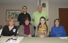 """<div class=""""source"""">Photo submitted</div><div class=""""image-desc"""">Pictured is the South Central Kentucky Board of the Brain Injury Alliance of Kentucky. They are, sitting from left, Linda Hunter, Diane Thomas, Ann Mason Tatum, Terra Lackey; standing, from left, are Justin Farr and Bob O'Daniel. Not pictured is Dana Garrett.</div><div class=""""buy-pic""""></div>"""