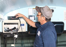 "<div class=""source"">Jeff Moreland</div><div class=""image-desc"">Terry Tope, head mechanic at the Washington County school district's bus garage, has been busy installing cameras on the county's school buses. He said he expects all 21 of the district's buses to be equipped with cameras by the end of February.</div><div class=""buy-pic""><a href=""/photo_select/7842"">Buy this photo</a></div>"