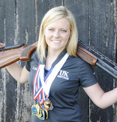 """<div class=""""source"""">Photo submitted</div><div class=""""image-desc"""">After leading the University of Kentucky to a top-five finish nationally, Stephanie Carey aims at an Olympic clinic in Colorado Springs.</div><div class=""""buy-pic""""></div>"""