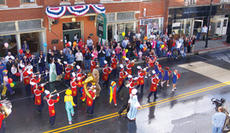 """<div class=""""source"""">Jeff Moreland</div><div class=""""image-desc"""">The Washington County High School Commander Band marched for a scene in a TV commercial Sunday in downtown Springfield. </div><div class=""""buy-pic""""><a href=""""/photo_select/3899"""">Buy this photo</a></div>"""