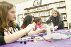 """<div class=""""source"""">Jesse Osbourne</div><div class=""""image-desc"""">The tweens craft class filled up on Thursday at the Washington County Public Library. More craft classes will be forthcoming. See news briefs for more dates and times.</div><div class=""""buy-pic""""><a href=""""/photo_select/13338"""">Buy this photo</a></div>"""