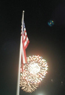 """<div class=""""source"""">Jimmie Earls</div><div class=""""image-desc"""">Fireworks lit up the sky over Springfield Friday night as part of the annual Independence Day celebration.</div><div class=""""buy-pic""""><a href=""""/photo_select/6417"""">Buy this photo</a></div>"""