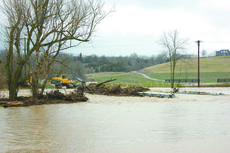 "<div class=""source"">Sun File Photo</div><div class=""image-desc"">The bridge on Grundy Home Road saw major flooding just days before it was scheduled to re-open following construction, but suffered no damage and was able to open on schedule.</div><div class=""buy-pic""><a href=""/photo_select/15594"">Buy this photo</a></div>"