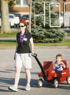 """<div class=""""source"""">Sun file photo</div><div class=""""image-desc"""">Washington County PVA Fran Carrico takes part in a past Relay for Life event in Springfield.</div><div class=""""buy-pic""""><a href=""""/photo_select/16524"""">Buy this photo</a></div>"""