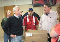 "<div class=""source"">Jeff Moreland</div><div class=""image-desc"">Kentucky Gov. Steve Beshear, left, visited the local American Red Cross shelter Sunday evening where he received a tour from Washington County Judge-Executive John Settles, at right.</div><div class=""buy-pic""><a href=""/photo_select/5408"">Buy this photo</a></div>"