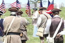 """<div class=""""source"""">Photo by Brandon Mattingly</div><div class=""""image-desc"""">Members of the color guard listen as Doug T. Collins speaks about Wright's life.</div><div class=""""buy-pic""""><a href=""""/photo_select/16274"""">Buy this photo</a></div>"""