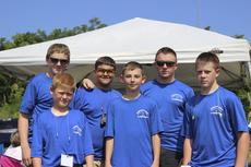 """<div class=""""source"""">Photo submitted</div><div class=""""image-desc"""">Patrick Flowers, Blake Arnold, Matthew Carpenter, Mason Hamilton, Andrew Flowers and Patrick Tennill are pictured at the Fleming Co. Invitational Shoot</div><div class=""""buy-pic""""></div>"""