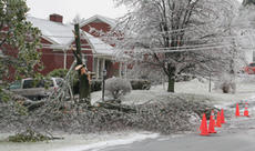 """<div class=""""source"""">Jeff Moreland</div><div class=""""image-desc"""">Many homes in the community had downed trees in their yards Wednesday morning after Tuesday night's ice storm passed through.</div><div class=""""buy-pic""""><a href=""""/photo_select/2327"""">Buy this photo</a></div>"""