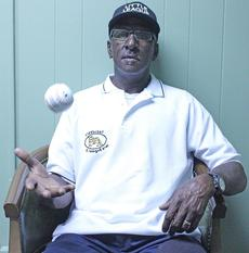 """<div class=""""source""""></div><div class=""""image-desc"""">Felix Keene has been umpiring Little League games since the early 1980s. An avid baseball fan himself, Keene said he got into umpiring to be a mentor to the kids, teaching them the fundamentals of the game whenever he could. </div><div class=""""buy-pic""""><a href=""""/photo_select/21642"""">Buy this photo</a></div>"""