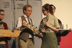 "<div class=""source"">Photo by John Overby</div><div class=""image-desc"">Jerry Mann, left, and Lance Herald, center, look for approval from Miss Delilah Strict, played by Madeline Hayden.</div><div class=""buy-pic""><a href=""http://web2.lcni5.com/cgi-bin/c2newbuyphoto.cgi?pub=023&orig=jerry_mann-lance_herald-madeline_hayden.jpg"" target=""_new"">Buy this photo</a></div>"