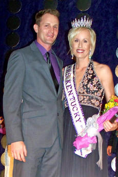 """<div class=""""source"""">Photo submitted</div><div class=""""image-desc"""">Jessica Glasscock, formerly of Mackville, was recently named Mrs. Kentucky International. She is pictured here with her husband, Nathan, after being crowned. </div><div class=""""buy-pic""""><a href=""""/photo_select/10277"""">Buy this photo</a></div>"""