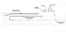 """<div class=""""source"""">Rendering courtesy of PDC Consultants</div><div class=""""image-desc"""">Pictured are the plans for the new taxiway at the Lebanon-Springfield Airport in Washington County. Construction could begin as early as July. </div><div class=""""buy-pic""""></div>"""