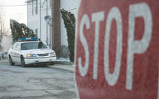 """<div class=""""source"""">Jeff Moreland</div><div class=""""image-desc"""">Springfield police officers have been monitoring intersections in town, especially those near schools like St. Dominic, where heavier traffic exists in the mornings. No tickets have been issued at this time, but officer Charlie Osbourne said tickets will </div><div class=""""buy-pic""""><a href=""""/photo_select/4138"""">Buy this photo</a></div>"""