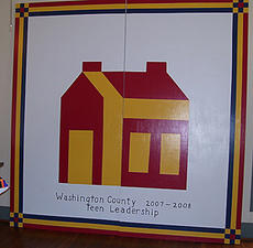 "<div class=""source"">Submitted</div><div class=""image-desc"">A quilt piece featuring a school house has been created by students in Washington County Teen Leadership, and will hang at the board of education office in Springfield in the near future. </div><div class=""buy-pic""><a href=""/photo_select/2247"">Buy this photo</a></div>"