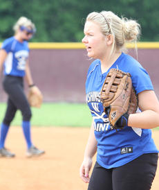 """<div class=""""source"""">Photo by Dennis George</div><div class=""""image-desc"""">Senior Samantha Mudd and the Commanderettes look to turn things around this week, when they host the 19th District tournament at Idle Hour Park.</div><div class=""""buy-pic""""><a href=""""/photo_select/14330"""">Buy this photo</a></div>"""