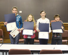 "<div class=""source"">Jeff Moreland</div><div class=""image-desc"">Washington County school spelling bee winners are, from left, Erin Taylor, Washington County Middle School; Hannah Harmon, North Washington Elementary School; Bailey Woford, North Washington Elementary (middle school); and William Thompson, Washington County Elementary School. Taylor was the overall winner, and will compete in state competition on March 19 in Louisville.</div><div class=""buy-pic""><a href=""http://web2.lcni5.com/cgi-bin/c2newbuyphoto.cgi?pub=023&orig=spelling%2Bbee-group.jpg"" target=""_new"">Buy this photo</a></div>"