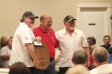 "<div class=""source"">Photo by Brandon Mattingly</div><div class=""image-desc"">Team Enoserv was recognized by Jim Beam Master Distiller Fred Noe after the team earned grand champion honors.</div><div class=""buy-pic""><a href=""/photo_select/15114"">Buy this photo</a></div>"