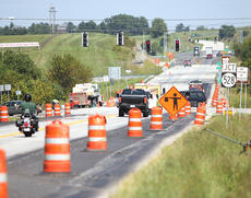"""<div class=""""source"""">Jeff Moreland</div><div class=""""image-desc"""">Construction began on the new turn lanes at the intersection of KY555 and KY528 last week. The project has a contract deadline of Sept. 30, but state officials estimate it could be done in a matter of days now.</div><div class=""""buy-pic""""><a href=""""/photo_select/9594"""">Buy this photo</a></div>"""