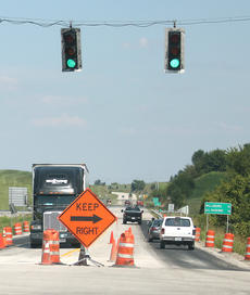 """<div class=""""source"""">Jeff Moreland</div><div class=""""image-desc"""">The traffic lights on KY 555 will soon feature turn arrows when the new turn lanes from KY 555 to KY 528 are completed.</div><div class=""""buy-pic""""><a href=""""/photo_select/9595"""">Buy this photo</a></div>"""
